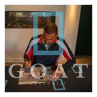 Ruud Gullit signed Netherlands photo - Euro 88 - framed