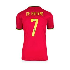 Kevin de Bruyne signed Belgium shirt 2020-21