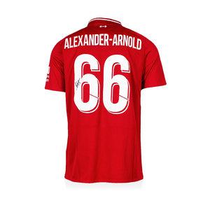 Trent Alexander-Arnold maglia firmata Liverpool 2018-19
