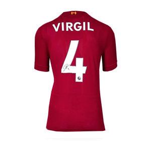 Virgil van Dijk maglia firmata Liverpool 2019-20