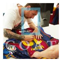 Lionel Messi signed FC Barcelona shirt 2020-21