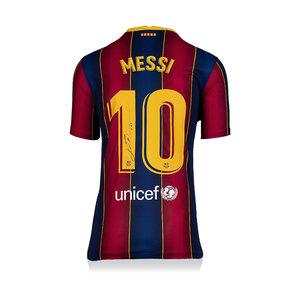 Lionel Messi maglia firmata FC Barcelona 2020-21