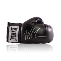 Mike Tyson signed Everlast boxing glove black