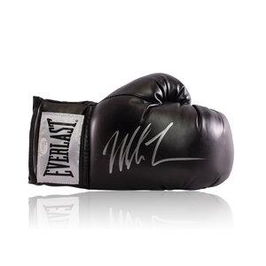 Mike Tyson guantone da boxe firmato Everlast nero