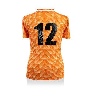 Marco van Basten maglia firmata Olanda 1988