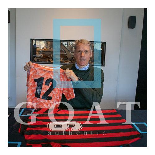 Marco van Basten signed Netherlands shirt 1988 - framed