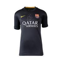 Xavi signed FC Barcelona shirt 2013-14