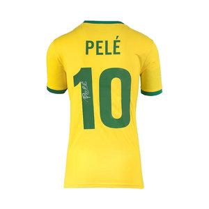 Pelé maglia firmata Brasile Coppa del Mondo 1970