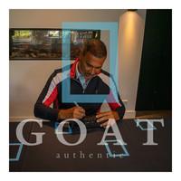 Ruud Gullit scarpa da calcio firmato adidas - incorniciata