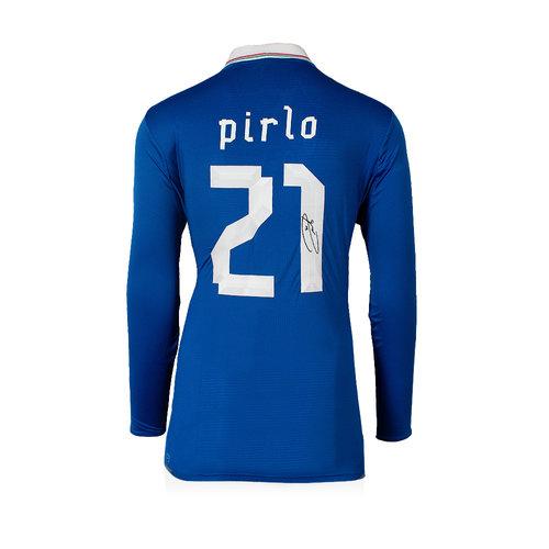 Andrea Pirlo signed Italy shirt 2012-13