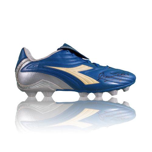 Francesco Totti signed boot Diadora