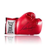 Anthony Joshua signed boxing glove Everlast