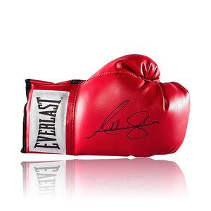 Anthony Joshua guantone da boxe firmato Everlast