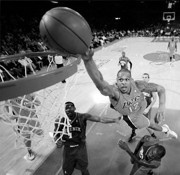 Authentic signed NBA basketball memorabilia