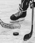 Cimeli firmati da NHL hockey