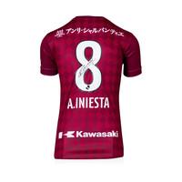 Andrés Iniesta signed Vissel Kobe shirt 2020