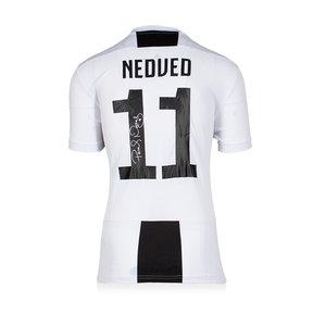 Pavel Nedved maglia firmata Juventus 2018-19