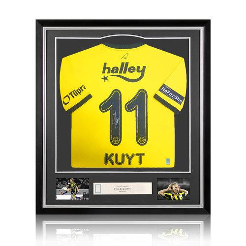 Dirk Kuyt maglia firmata Fenerbahçe 2020-21 - incorniciata