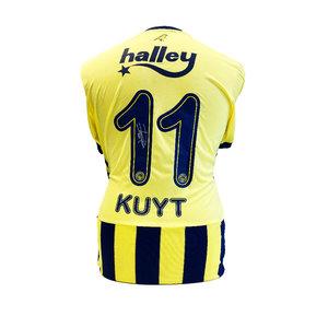 Dirk Kuyt maglia firmata Fenerbahçe 2020-21