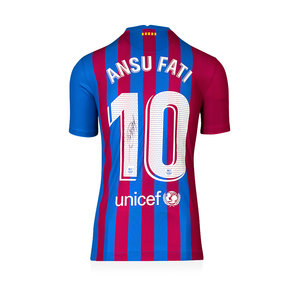 Ansu Fati maglia firmata FC Barcelona 2021-22