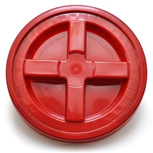 GRIT GUARD GRIT GUARD GAMMA SEAL BUCKET LID RED