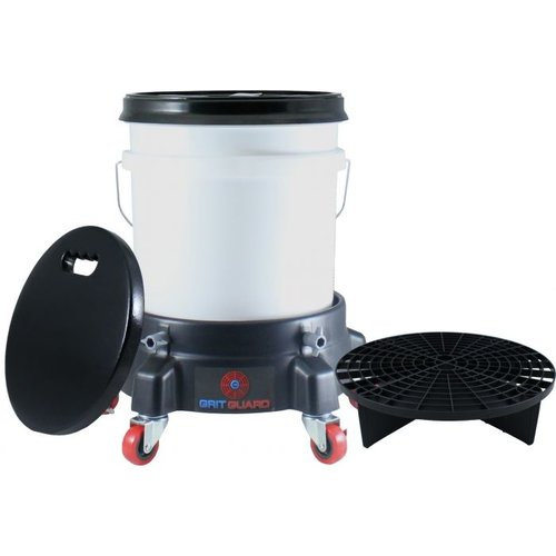 GRIT GUARD GRIT GUARD BUCKET DOLLY BLACK