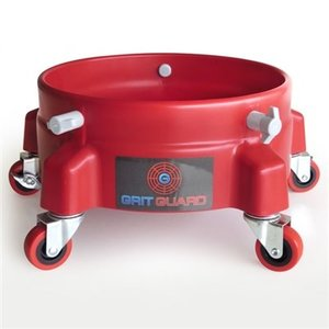 GRIT GUARD GRIT GUARD BUCKET DOLLY RED