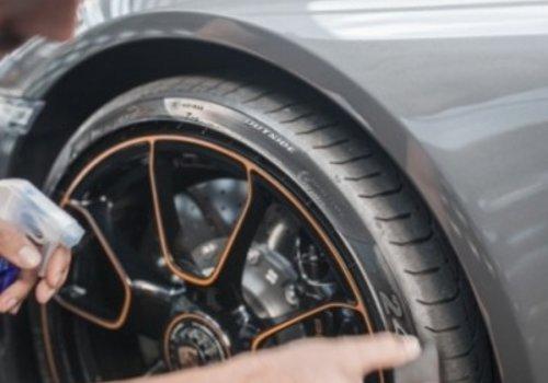 Keramische Gyeon banden- en rubberbescherming