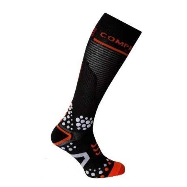 Compressport Full Socks Zwart 3D. DOT (V2)