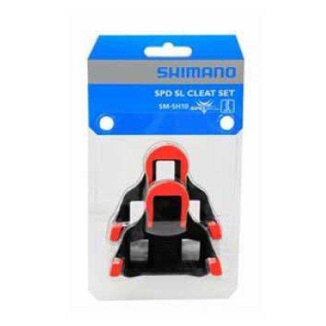 Shimano SM-SH10 SPD SL Schoenplaat (Rood)