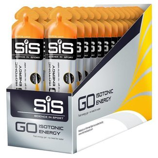 SIS (Science in Sport) SIS Go Isotonisches Energie-Gel (60 ml) - 30 Stück
