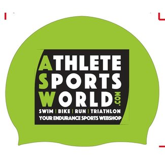 AthleteSportsWorld.com ASW Badekappe