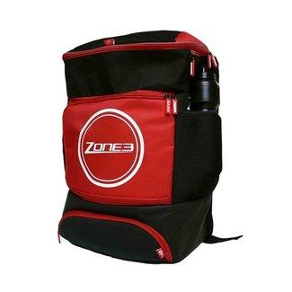 Zone3 Zone3 Rucksack für Übergang - Schwarz / Rot