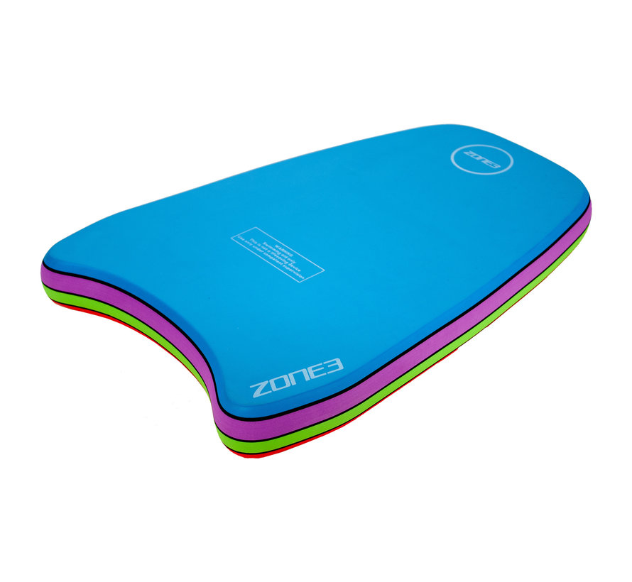 Zone3 Multi-coloured Tropical Swim Zwemplank
