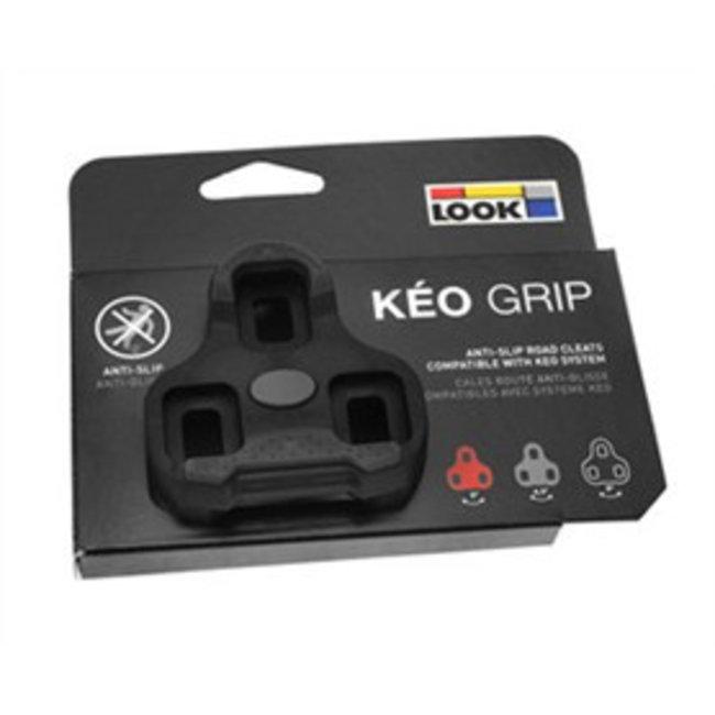 Look Keo Schoenplaat GRIP (Zwart)