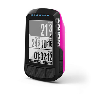 Wahoo Fitness Wahoo ELEMNT BOLT Pink GPS bicycle computer / bicycle navigation