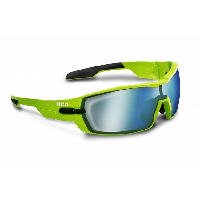 Kask Koo Open Radsportbrille Limettengrün