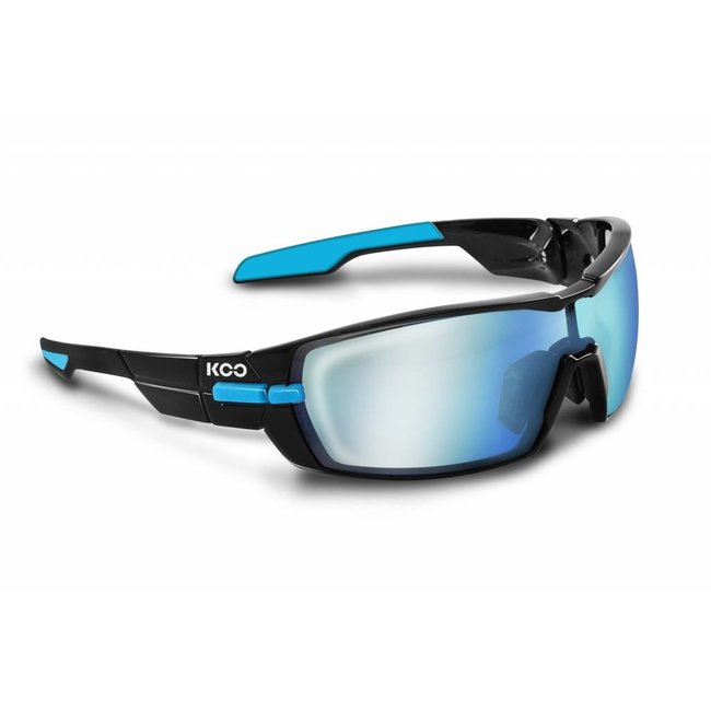 Kask Koo Open Radsportbrille Schwarz / Blau