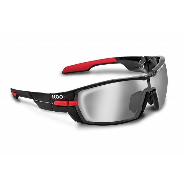 Kask Koo Open Radsportbrille Schwarz Rot