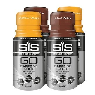 SIS (Science in Sports) SIS Go Cafeine Shot (150mg Cafeine) BUNDEL
