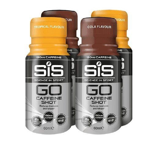 SIS (Science in Sports) SIS Go Cafeine Shot (150mg Cafeine) BUNDEL