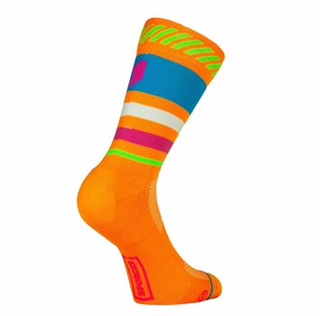 Sporcks Sporcks Lima Limon Orange Running Socks