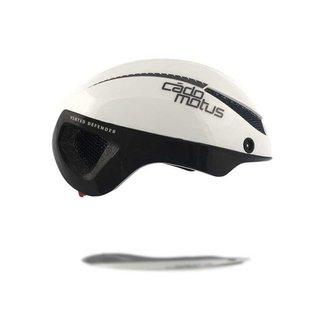 Cádomotus Omega Aerospeed bicicleta casco blanco
