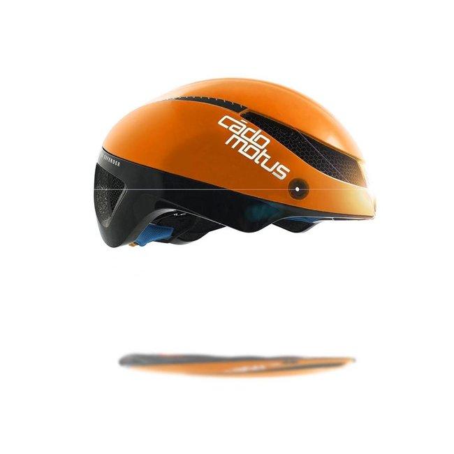 Cadomotus Omega Aerospeed fietshelm Oranje
