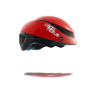Cádomotus Omega Aerospeed casque de vélo rouge