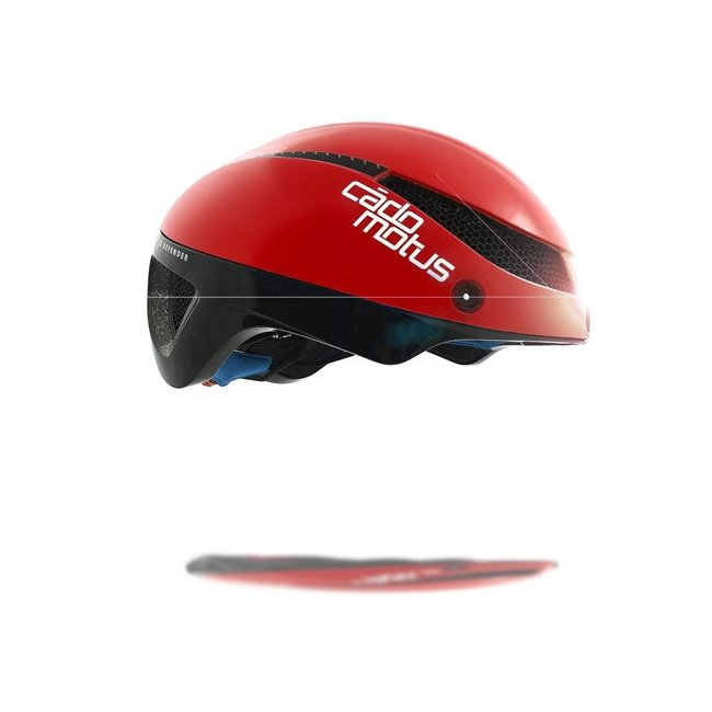 Omega Aerospeed Fahrradhelm Rot