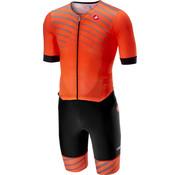 Castelli Castelli Free Sanremo Suit Short Sleeves Orange
