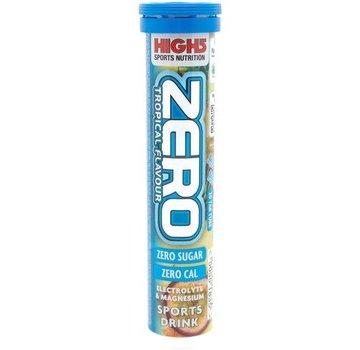 High5 Bebida de electrólito de hidratación CERO (20 lengüetas) - THT corto