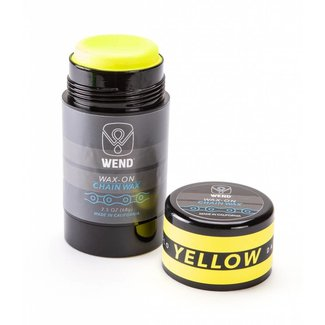 Wend Wax-on Twist up Yellow (80ml)