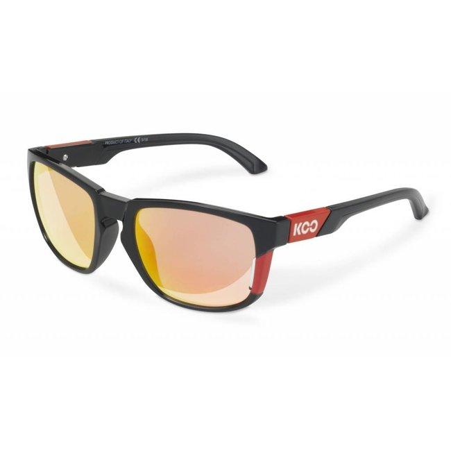 Kask Koo California Radsportbrille schwarz-rot
